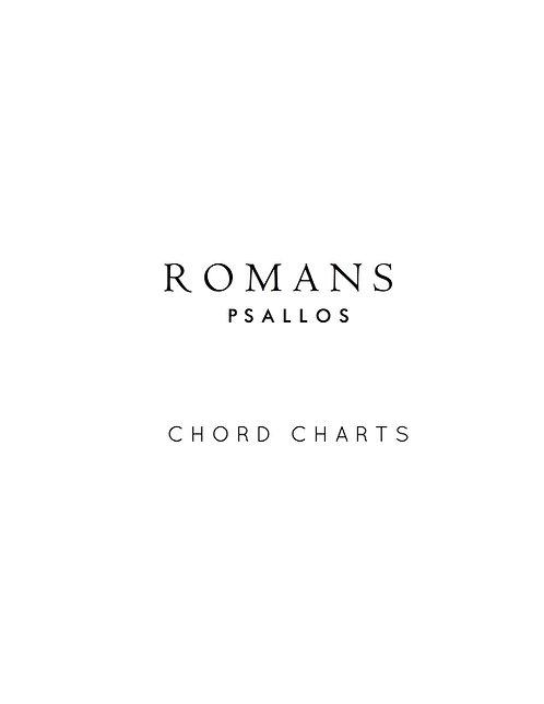 Romans - Chord Charts (Digital)