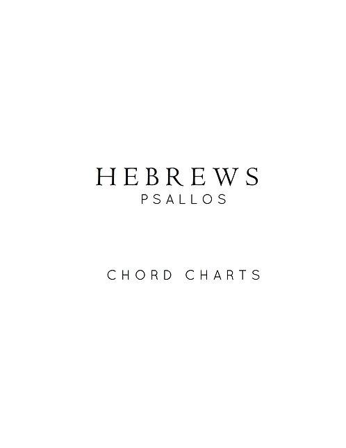 Hebrews - Chord Charts (digital)