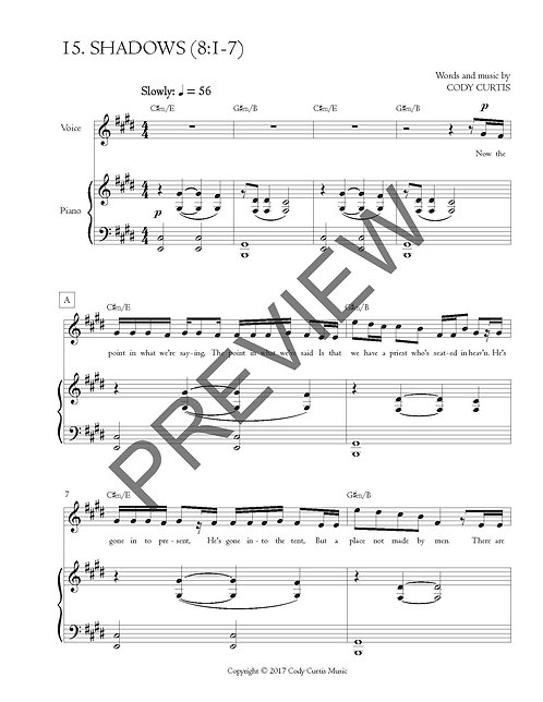 Wondered (8:8-13) [Pn+Vox Sheet Music]