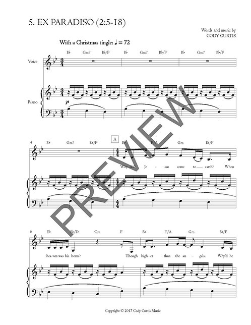 Ex Paradiso (2:5-18) [Pn+Vox Sheet Music]
