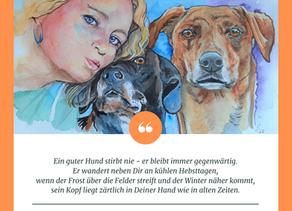 Ein guter Hund stirbt nie ... (Mary Carolyn Davies)