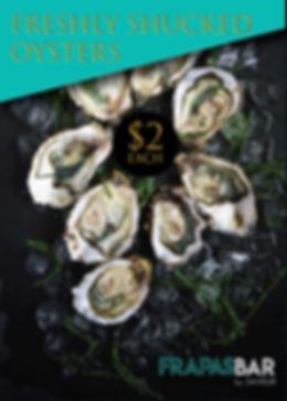 FrapasBar Oysters Promo_Flights experien
