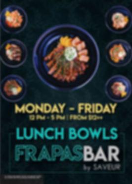 FrapasBar Lunch Poster_Flights experienc