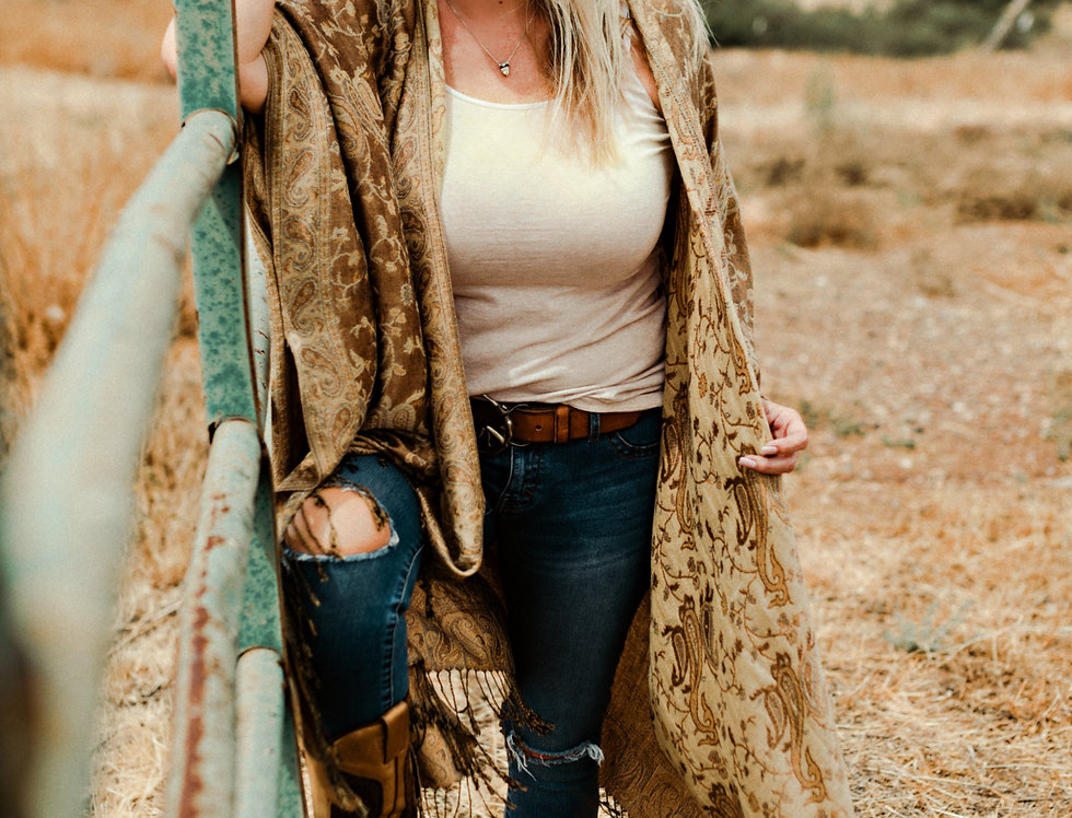 Pashmina Kaftan - Sonoran Desert