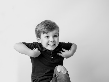 Why I Recommend Black and White Portraits for Your Kids