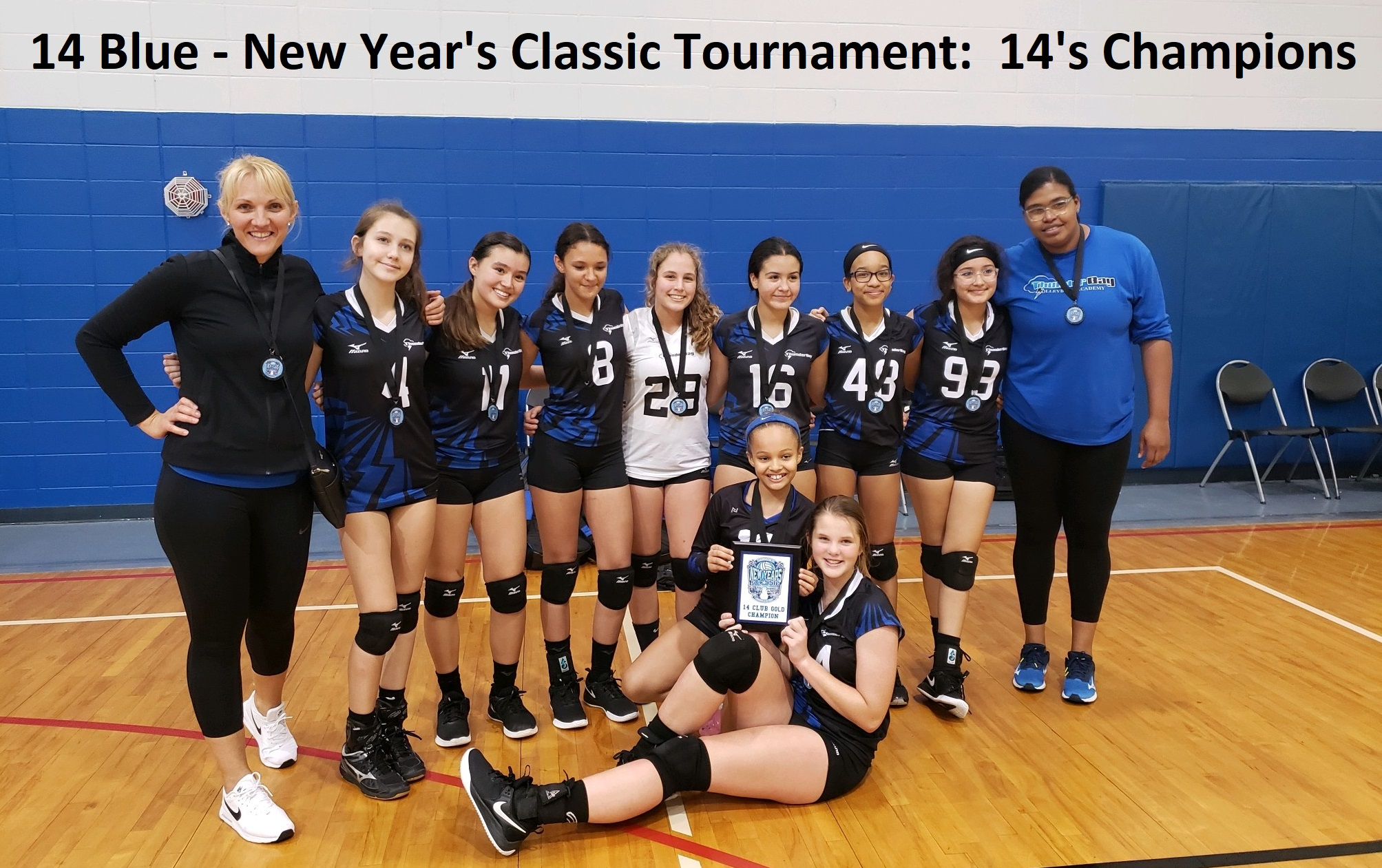 14 Blue - New Year's Classic