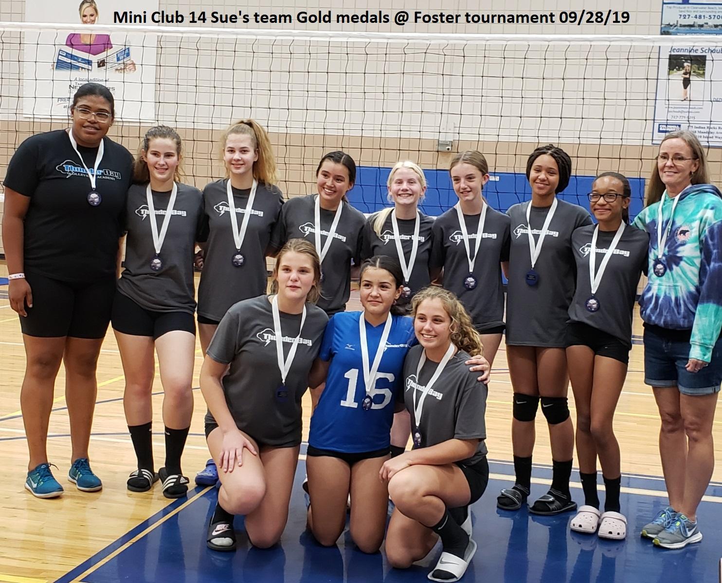 MC 14 Sue _ Foster Tournament 9-28-19