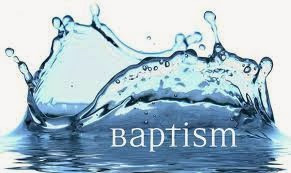 Baptisms ..... and all that ...