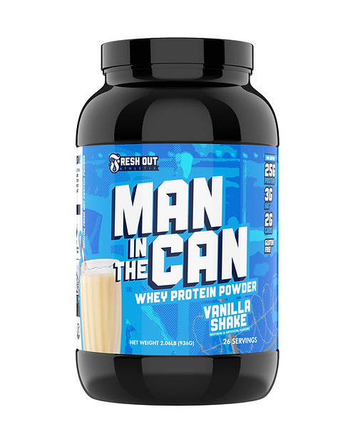 Man In The Can Protein Powder