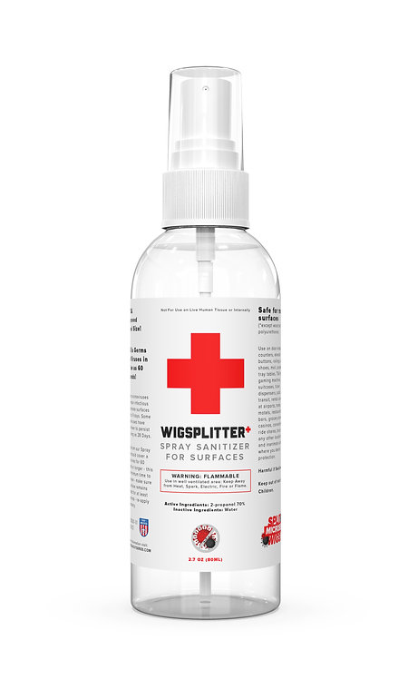 Wigsplitter+ Spray Sanitizer