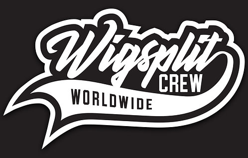 Wigsplit Crew Sticker - 10 pack