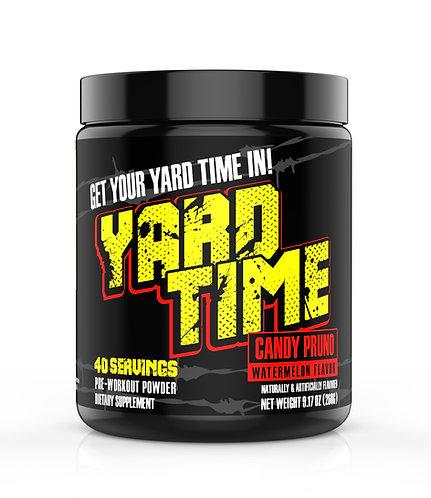 Yard Time Pre-workout