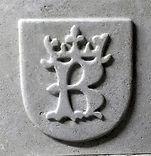 znak krakowa, element dekoracyjny kominka