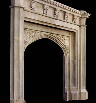 portal w stylu gotyckim