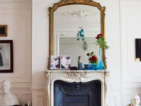 Portal z marmuru w stylu francuskim.