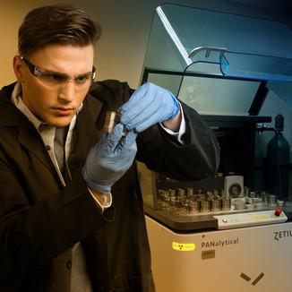 Lincoln Electric Scientist