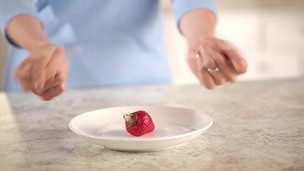 Hazelnut Filled Strawberries Recipe