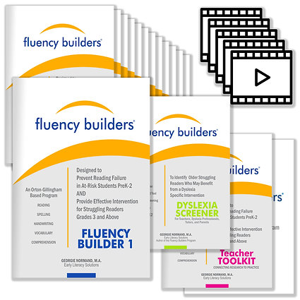 The Fluency Builders Digital Kit with the 3-12 Dyslexia Screener