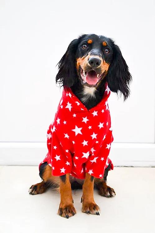 XS Fleece Jumper - RED STAR