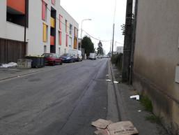 Une rue interdite aux piétons ?