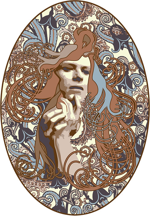 Nouveau Hunky Dory, Intergallatic Bowie Day poster