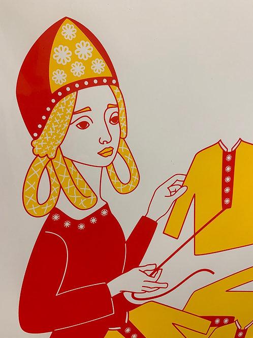 Vasilissa Sewing Shirts