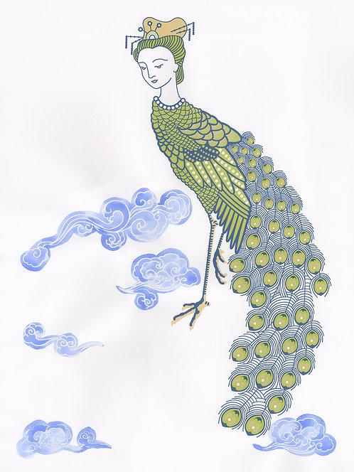 Peacock Maiden, green