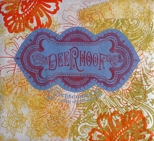 Deerhoof poster, variable edition