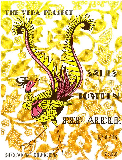 Sales, Tomten, Red Alder poster