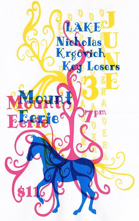 Mount Eerie, Lake, Nickolos Krogvich, Key losers poster