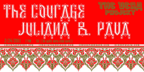 The Courage, Juliana & Pava poster