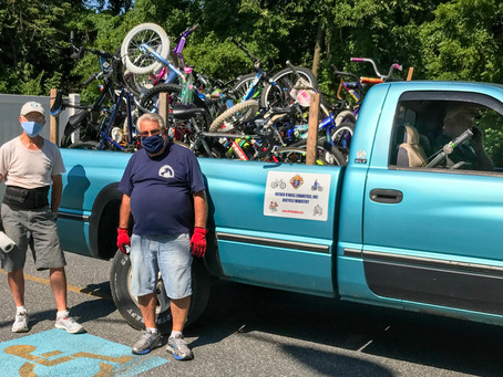 Bike Delivery to St Anthony of Padua - 07/21/20