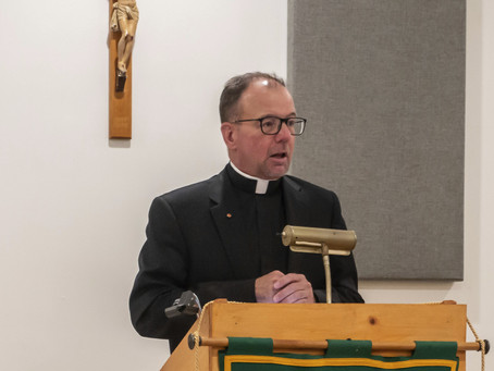 CONGRATULATIONS MSGR RICHARD HILGARTNER ON THE 25TH ANNIVERSARY OF YOUR ORDINATION - MAY 27, 2020