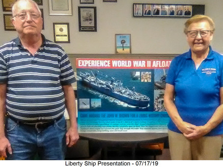 Lecture Series: SS John W. Brown