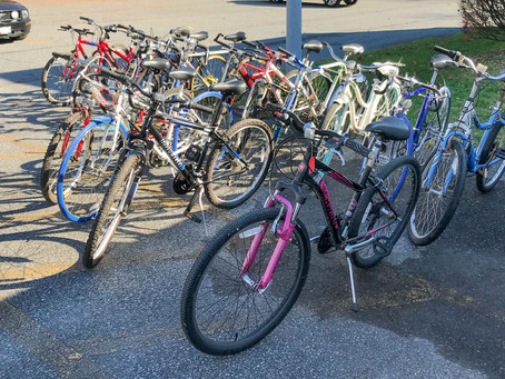 15 BIKES DELIVERED TO LINWOOD CENTER FOR AUTISM - 11/24/20