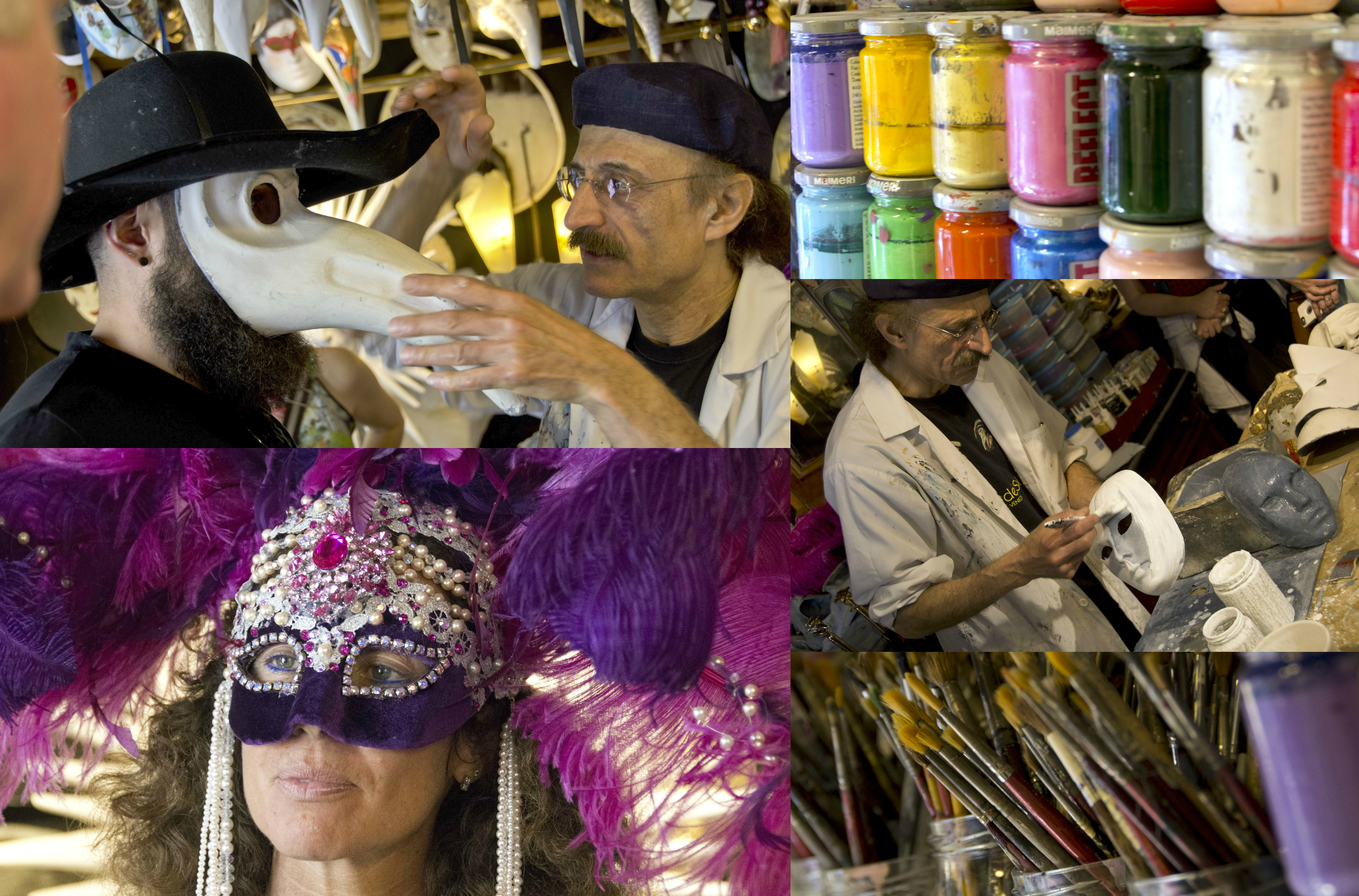 Venetian Mask Making Demonstration