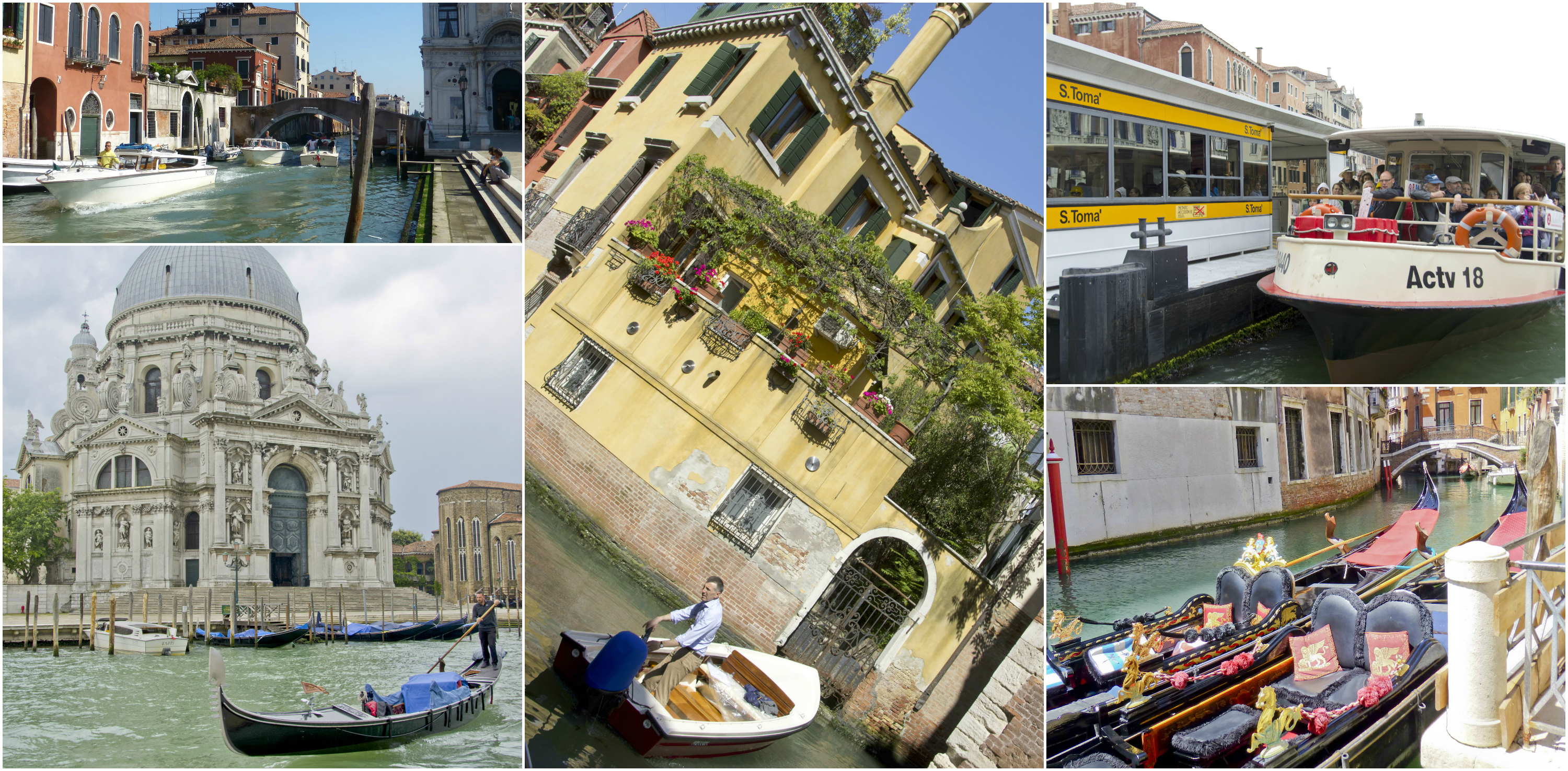 Various Canal Boats
