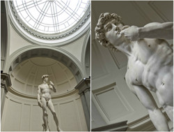 David in the Accademia