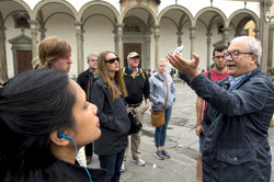 Ricardo - our Guide for Florence