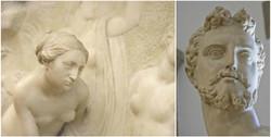 Sculptures in the Bargello