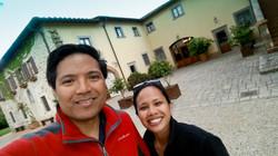Arrival at Villa il Crocicchio