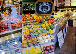 Fruits, Cheeses & Meats for Sale