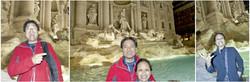 Trevi Fountain Coin Toss