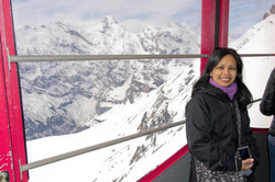 Cable Car Up to Mount Schilthorn