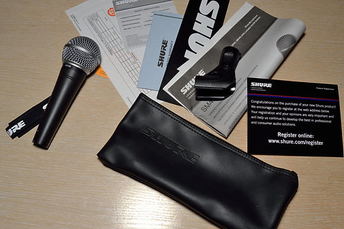 Микрофон Shure SM48 - LC. Новый не разу не использовался