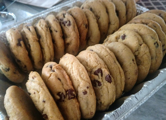 1/4 LB Chocolate Chip Cookie