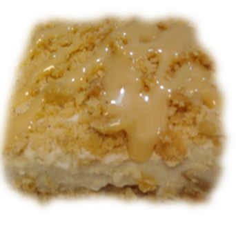 Caramel Apple Crumble Custard