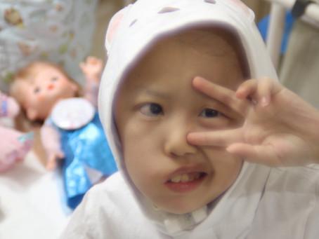 入院中&11歳の誕生日