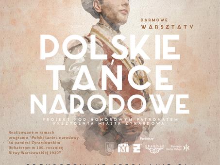 Darmowe warsztaty Polskich Tańców Narodowych dla dzieci, młodzieży, dorosłych i seniorów!