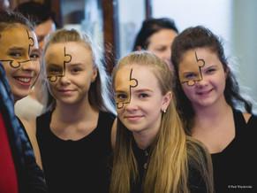Nasi Uczniowie na imprezie charytatywnej dla Natalki Kostrzewy!